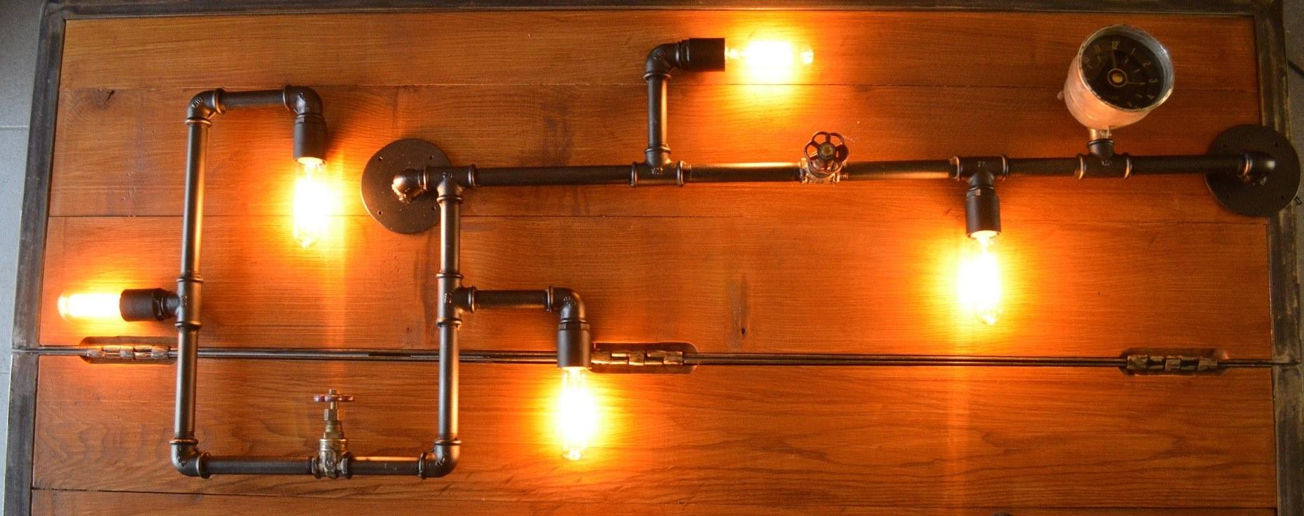 Applique «pipe light»